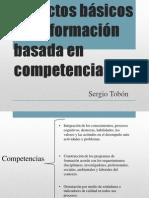 Aspectos Básicos de La Formación Basada en Competencias TOBON