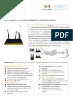 F8834_ZigBee+LTE&WCDMA_WIFI_ROUTER_SPECIFICATION