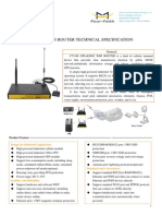 F7334S GPS+EDGE WIFI ROUTER TECHNICAL SPECIFICATION