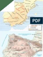 Mapas históricos de Historia de España