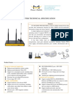 f3334s Edge Wifi Router Technical Specification