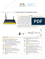 f3134 Gprs Wifi Router Specification