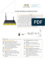 f3334 Edge Wifi Router Specification