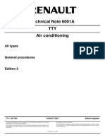 Technical Note 6001A RENAULT