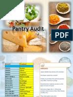 Pantry Audit