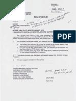 SOP on Revised 22kV Pilot Scan