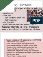 Preventing HIV