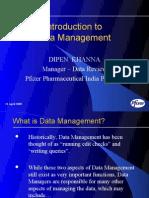 Data_Management - Dipen Khanna
