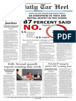 The Daily Tar Heel for August 26, 2014