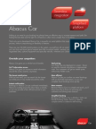 Abacus Car datasheet