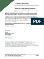 Pressemitteilung Designathon am 31.08.2014