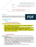 Fiche 1 - Stratification Et Inégalités 2014-2015