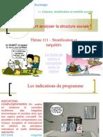 Thème 1- Inégalités Et Stratification2014-2015
