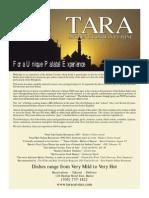 Tara Cenu New