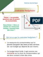 TD 2 - La Contrainte Budgétaire