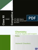 +2 Chemistry Notes - Akshansh