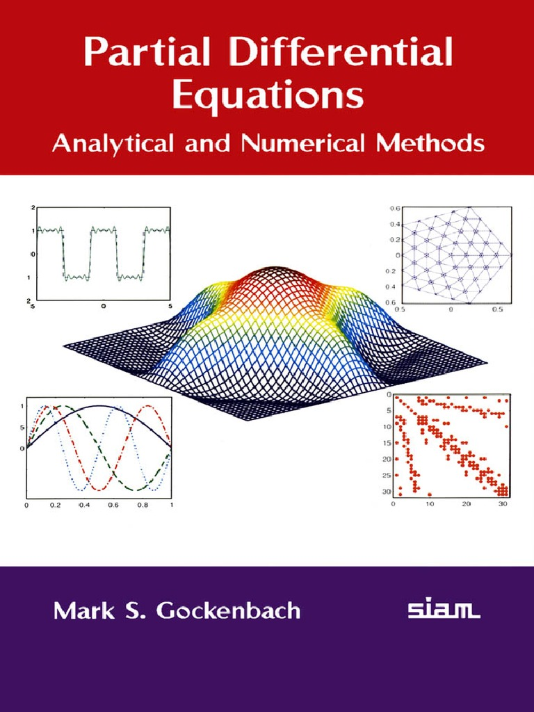Partial Differential Equations Analytical and Numerical Methods Second Edition pdf