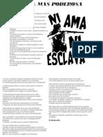 Cuaderno de Poesia Revoltosa y Escritos Libertarios