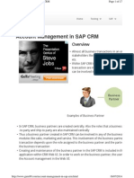 Account Management CRM