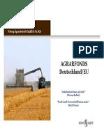 Agrarfonds, Deutschland Und EU