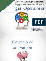 Expo Pedagogía Operatoria