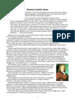 Dr. Héjjas István - Newton kettős élete