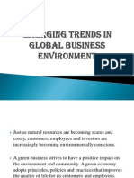 Emerging Trends in Global Business Environment