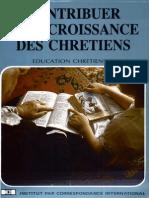 Contribuer à La Croissance Des Chrétiens