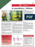 Jämställda Pendlare i Skåne