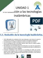 U1. Introduccion a Las Tecnologias Inalambricas