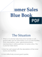 Customer Sales Blue Book