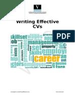Writing Effective CVs