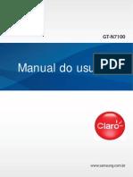 Manual Galaxy Note II GT-N7100OS4.3_Emb_Claro
