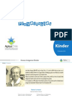 Proyectables Kinder II Semestre 2014