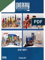 Berry Plastics Group Investor Presentation 2014 - February