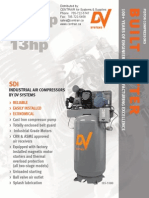 5hp 7 5hp 10hp 13hp Standard Industrial Piston Compressor Brochure
