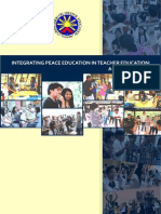 INTEGRATING PEACE EDUCATION IN TEACHER EDUCATION