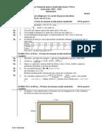 Mate.info.Ro.2976 Evaluarea Nationala Clasa a Viii-A Model 3