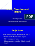 p 111 Setting Objectiveeeems Targets