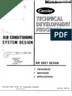 AC System Design - Air Duct Design T200-25A