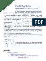 Standard Deviation-From Wikipedia