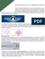 Optical modeling software