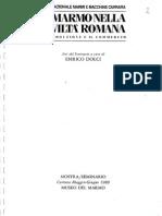 Marmo Nella Civilta Romana Carrara 1990-Libre