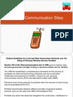 Cellular Communication Sites