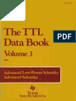 1984 the TTL Data Book Vol 3