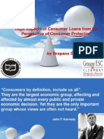 Legal Aspects of Consumer Loans from the  Perspective of Consumer Protection