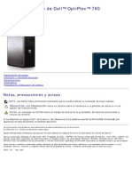 Optiplex-780 Service Manual Es-mx