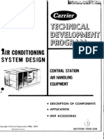 AC System Design - Air Duct Design Central Station Air Handling Equipment
