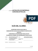 Admon. de Empresas Agroindustriales