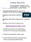 Distance Relays